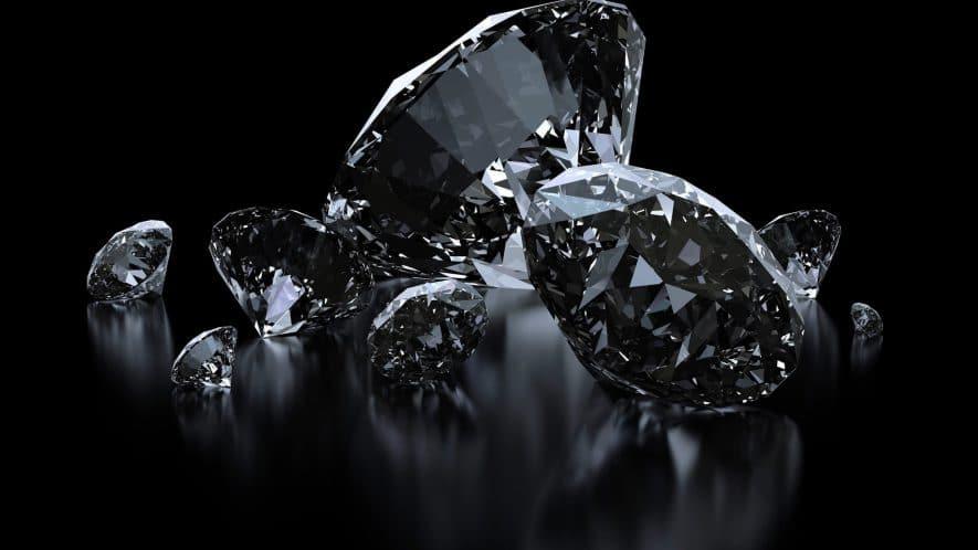 Κοσμήματα με Μαύρα Διαμάντια