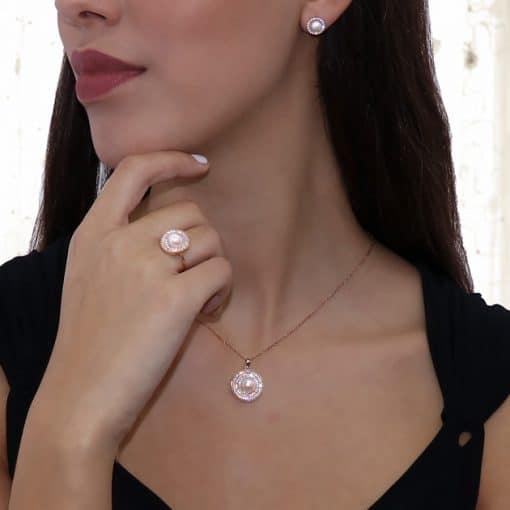Σκουλαρίκια Πέρλες - Μαργαριτάρια