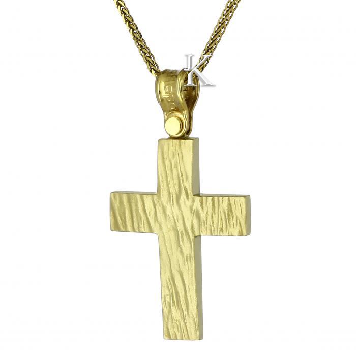 SKU-1120 / Σταυρός Χρυσός Κ14