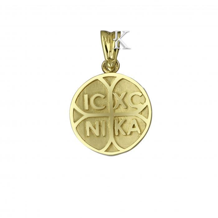SKU-2213 / Κωνσταντινάτο Χρυσός Κ9 Διπλής Όψεως