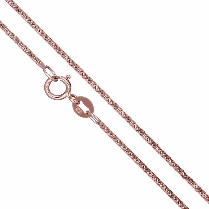 Αλυσίδα Σπίγγα Ροζ Χρυσός Κ18 Νο1