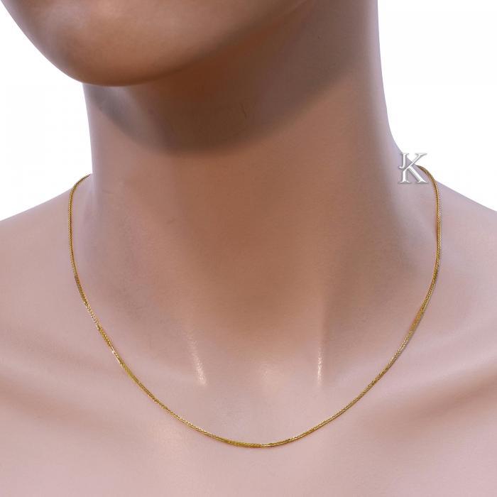 Αλυσίδα Σπίγγα Χρυσός Κ18 Νο1