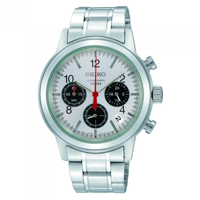 SKU-5798 / Seiko Chronograph Stainless Steel Bracelet
