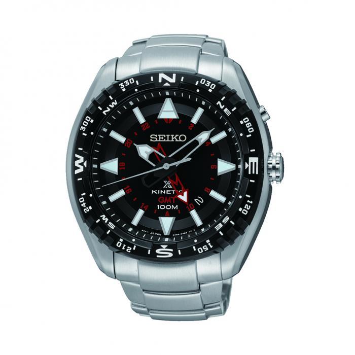 SKU-5915 / SEIKO Prospex Kinetic Stainless Steel Bracelet