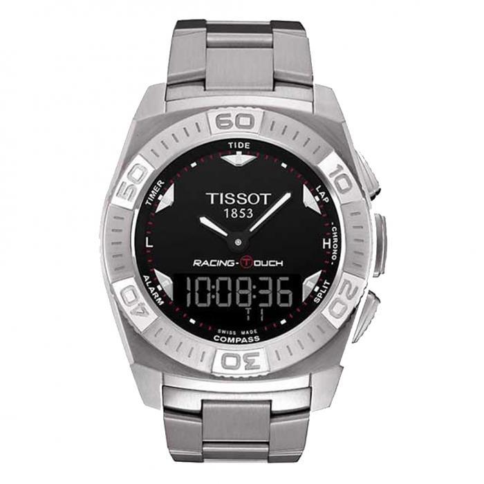 TISSOT Anadigi Racing Touch Stainless Steel Bracelet