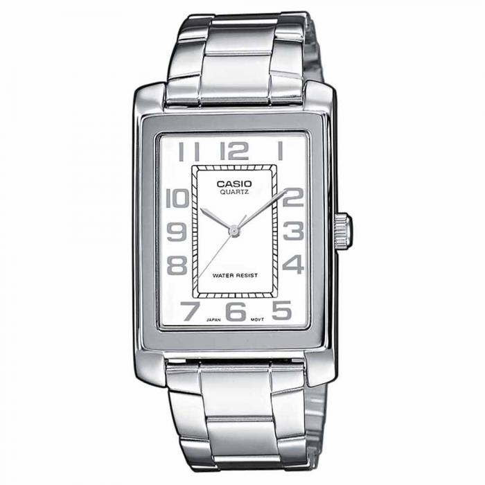 SKU-6774 / CASIO Collection Stainless Steel Bracelet White Dial