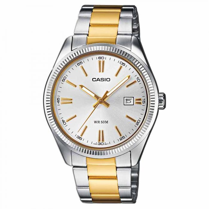 SKU-6757 / CASIO Collection Τwo-Tone Stainless Steel Bracelet