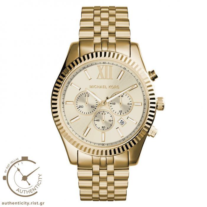 SKU-6863 / MICHAEL KORS Gold Stainless Steel Bracelet