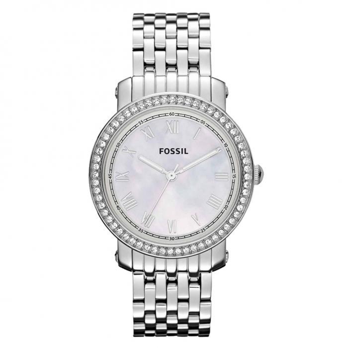 SKU-7959 / FOSSIL Emma Crystal Stainless Steel Bracelet