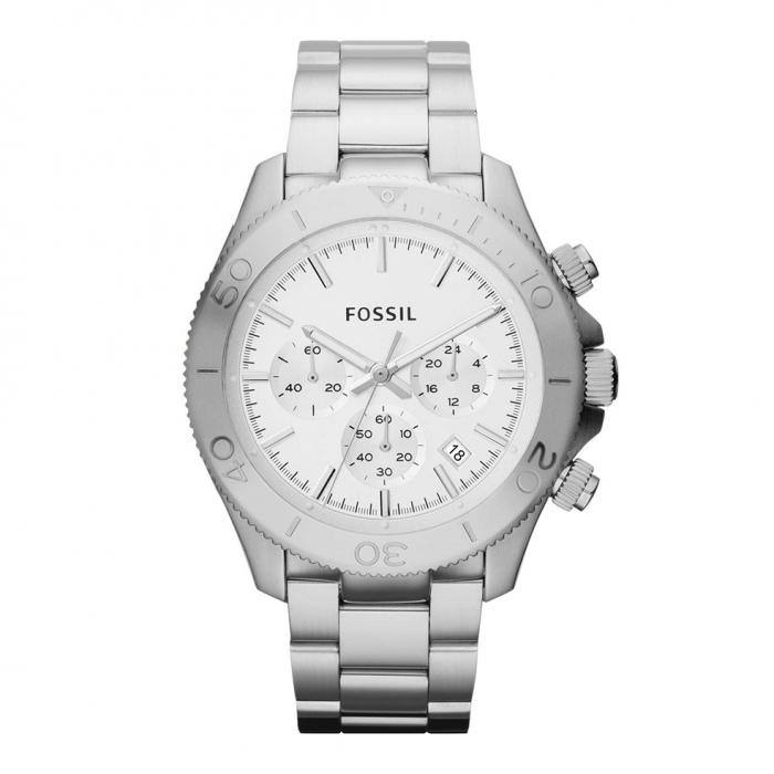 SKU-7980 / FOSSIL Retro Traveler Stainless Steel Bracelet