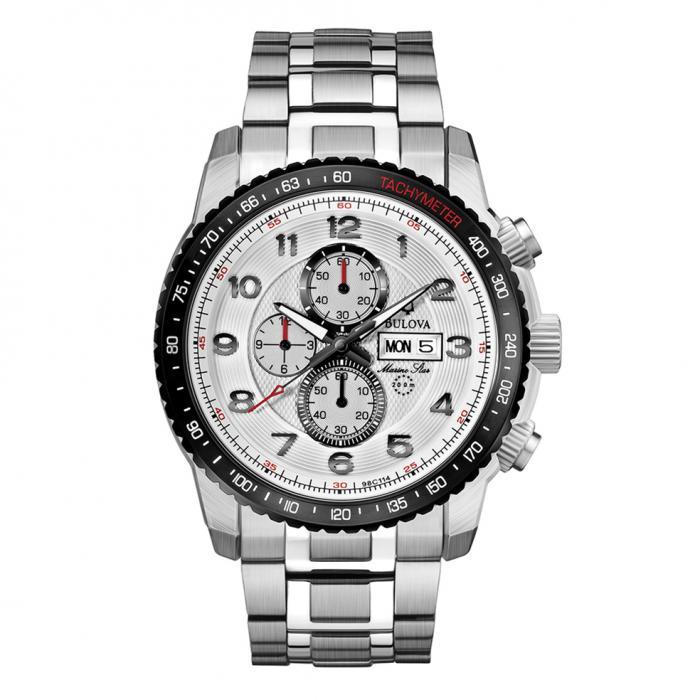 SKU-8748 / BULOVA Marine Star Chronograph Stainless Steel Bracelet