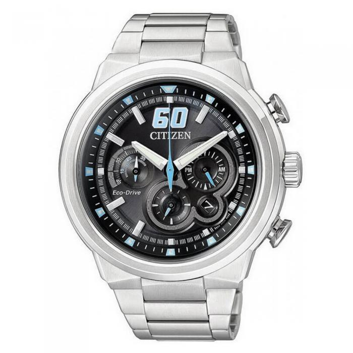 SKU-8612 / Citizen Eco-drive Chronograph Stainless Steel Bracelet