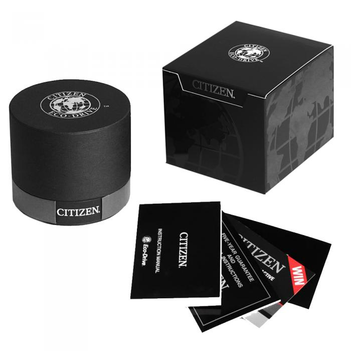 SKU-8613 / Citizen Eco-Drive Mens Chronograph Stainless Steel Bracelet