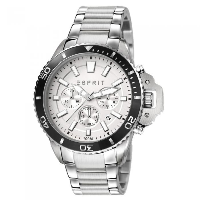 SKU-8040 / ESPRIT Chronograph Stainless Steel Bracelet