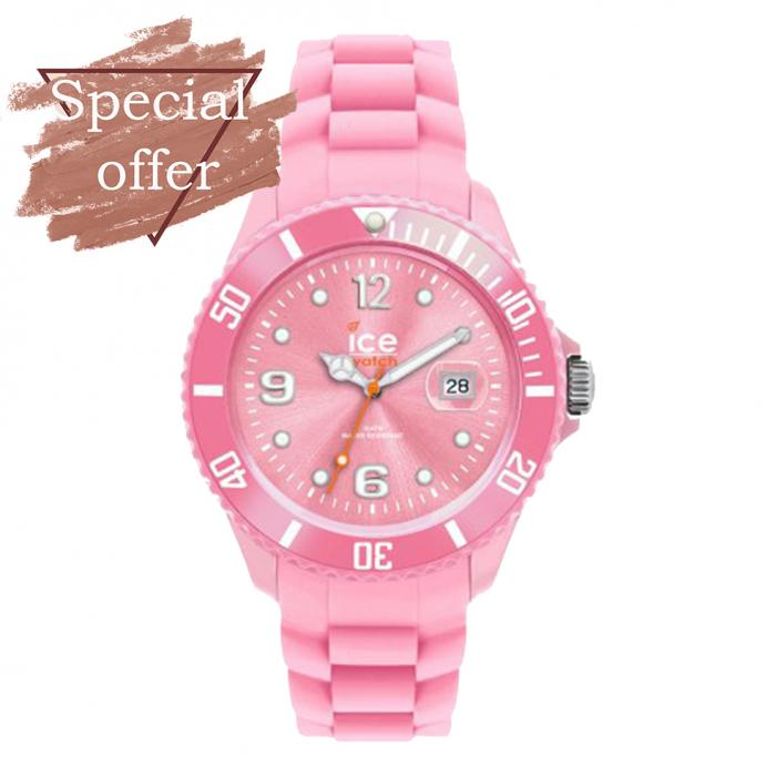 SKU-8412 / ICE WATCH Pink Silicone Strap