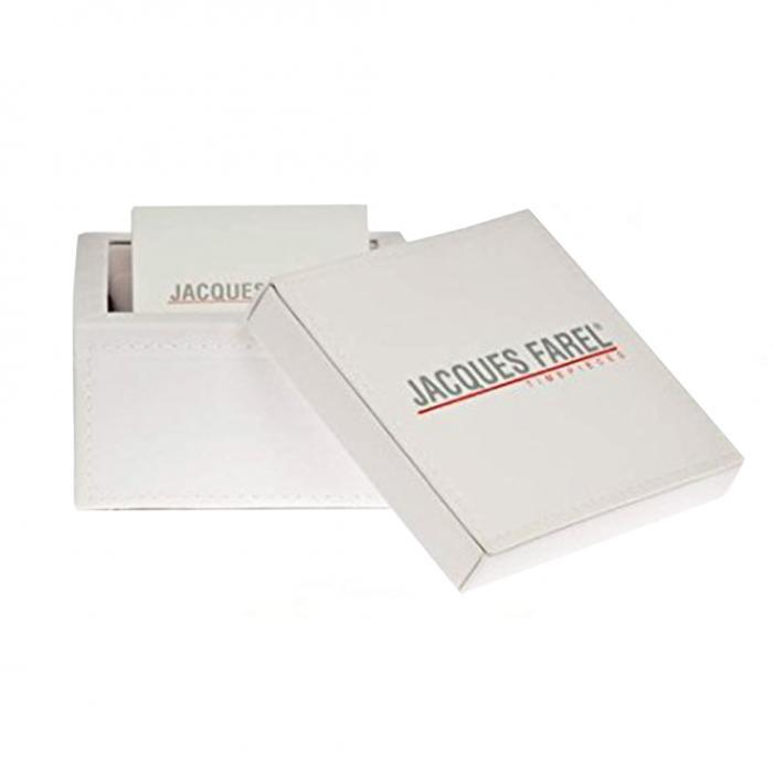 SKU-8109 / JACQUES FAREL Brown Leather Strap