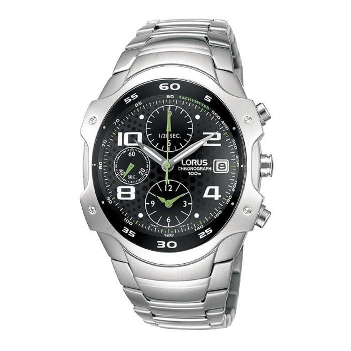 SKU-8360 / LORUS Chronograph Stainless Steel Bracelet