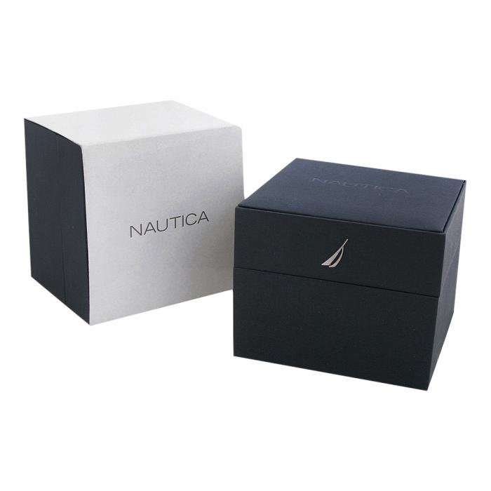 SKU-8920 / NAUTICA NCT 14 Black Leather Strap