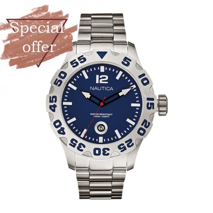 SKU-8935 / NAUTICA Stainless Steel Bracelet