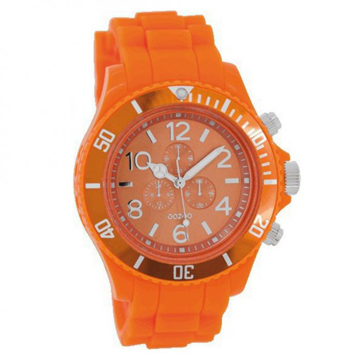 SKU-8151 / OOZOO Orange Rubber Strap