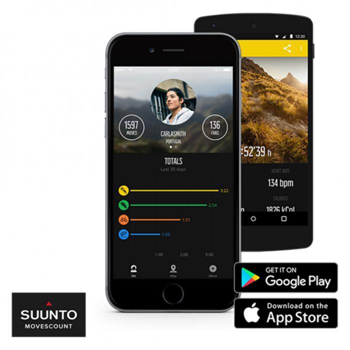 SKU-8620 / SUUNTO Traverse Black Silicone Strap