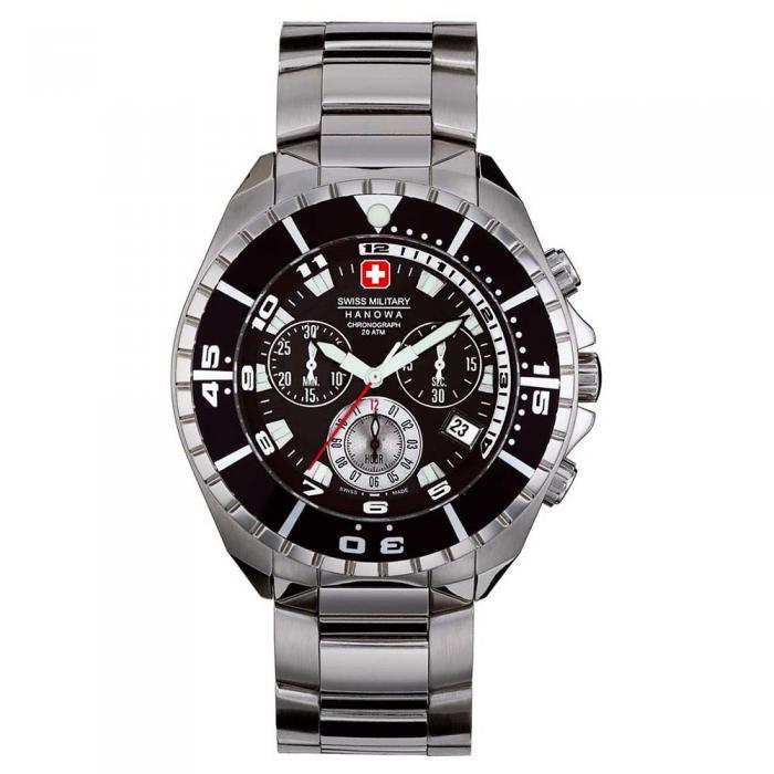 SKU-8798 / SWISS MILITARY HANOWA Sealander Stainless Steel Bracelet
