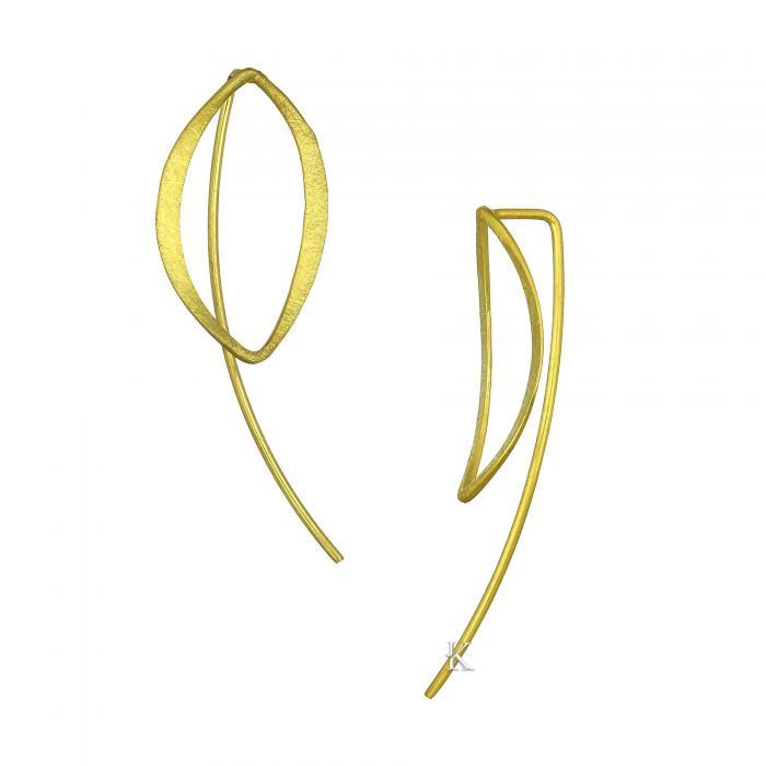 Σκουλαρίκια Χρυσός Κ14