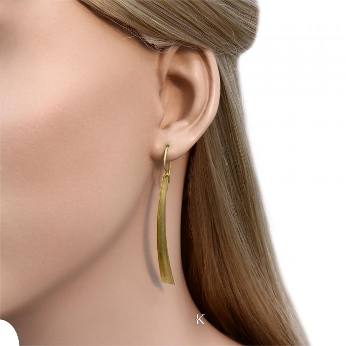 SKU-9034 / Σκουλαρίκια Χρυσός Κ14