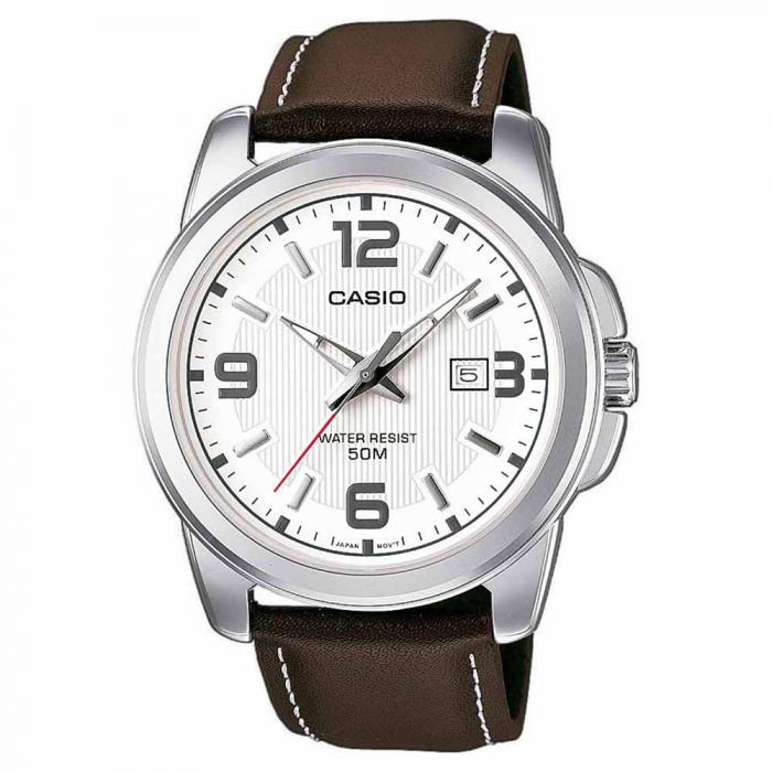 SKU-11049 / CASIO Collection Brown Leather Strap