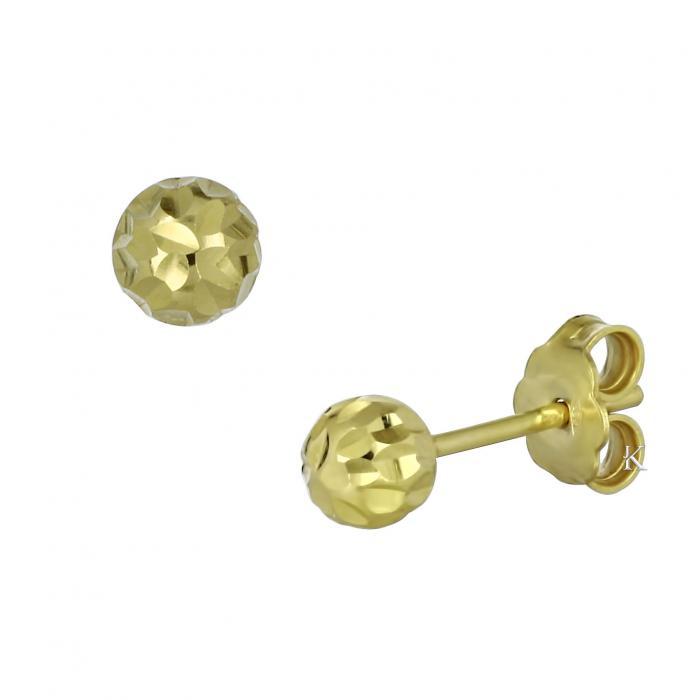 SKU-12103 / Σκουλαρίκια Χρυσός Κ14
