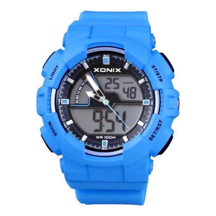 SKU-12934 / XONIX Anadigi Blue Silicone Strap