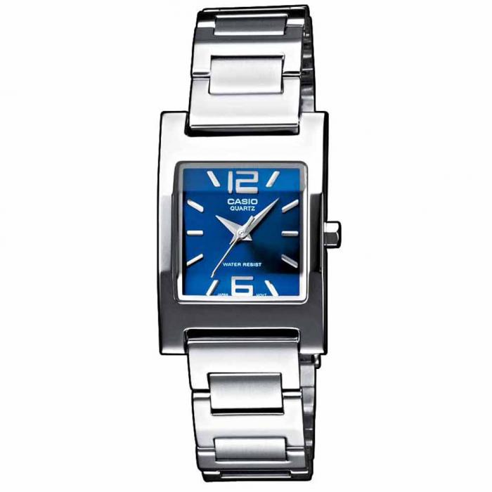 SKU-14951 / CASIO Collection Stainless Steel Bracelet Blue Dial