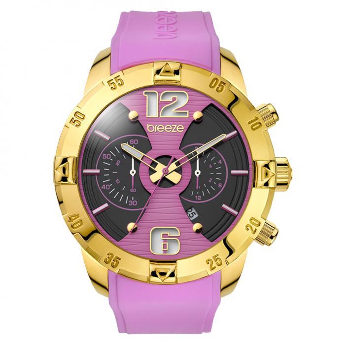 SKU-15766 / BREEZE Pop Sugar Gold Chrono Purple