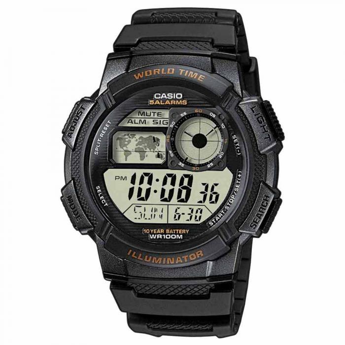 SKU-15270 / CASIO Collection Digital Black Rubber Strap