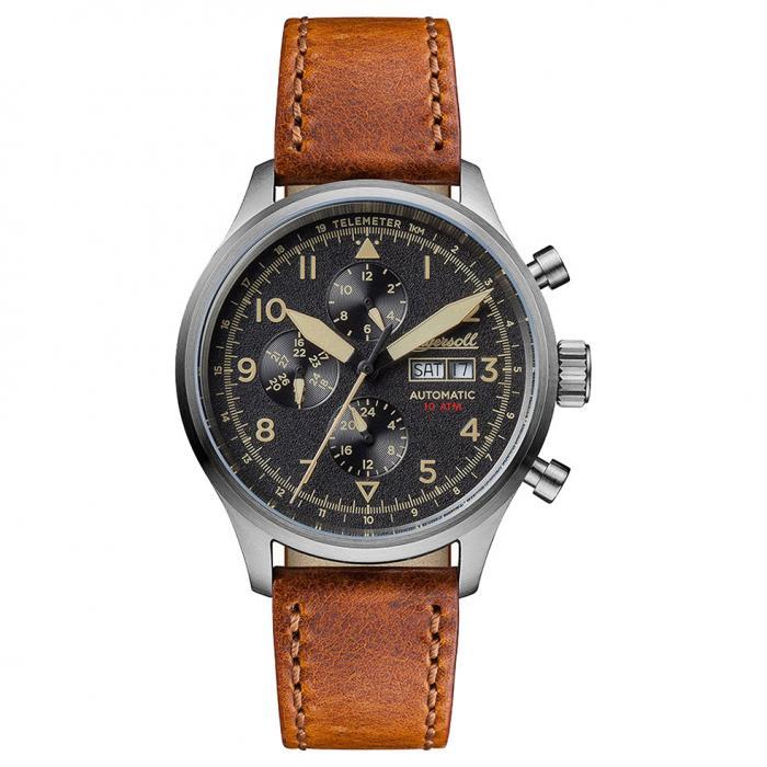 SKU-15751 / INGERSOLL BATEMAN Automatic Brown Leather Strap
