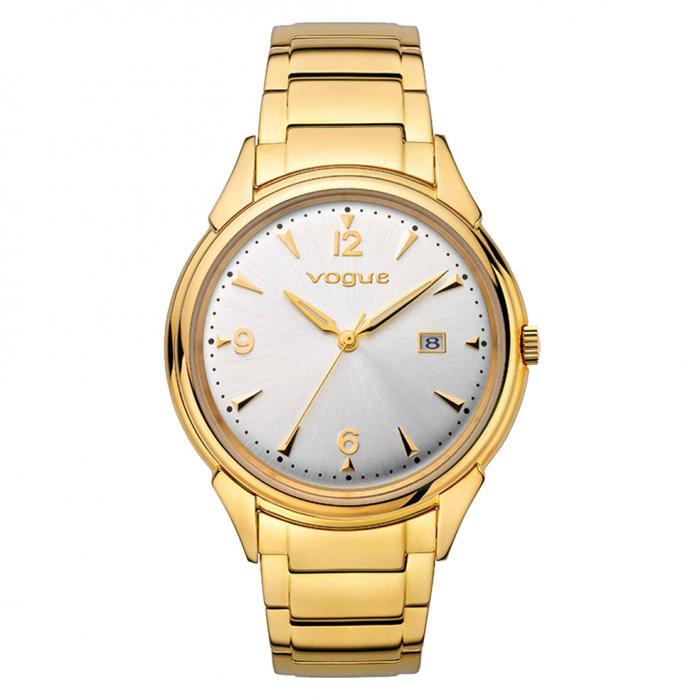 SKU-15761 / VOGUE Back To 50's Gold Stainless Steel Bracelet
