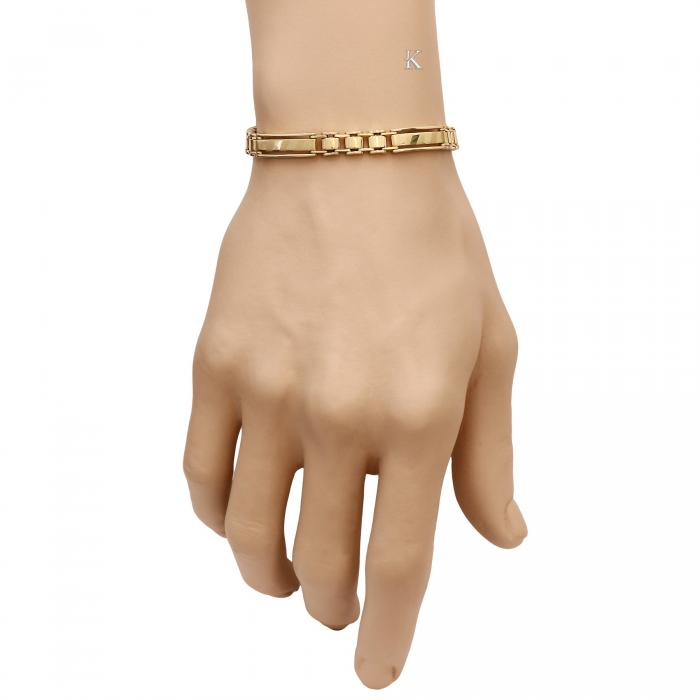 SKU-15675 /  Χειροπέδα Χρυσός K14