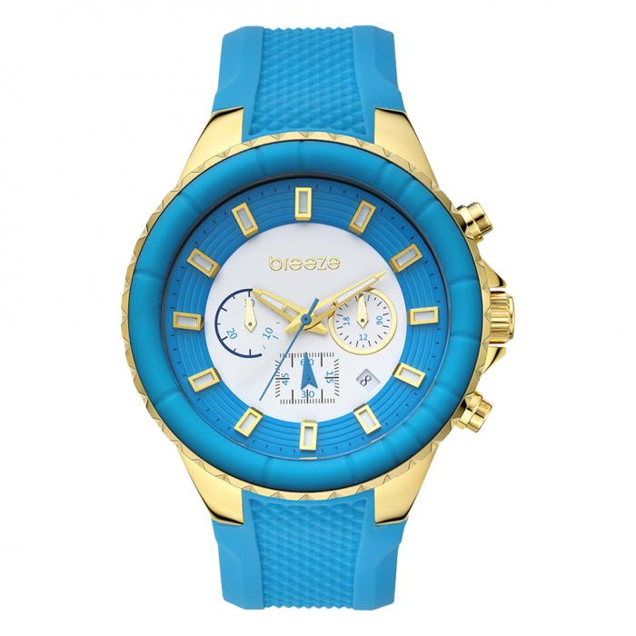 SKU-16360 / Breeze Air Hollywood Blue Rubber Strap