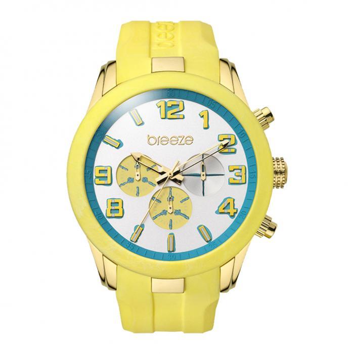 SKU-16922 / BREEZE Eye Candy Yellow Strap