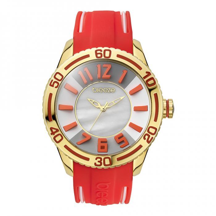 SKU-16491 / BREEZE Miami Twist Gold Red Strap