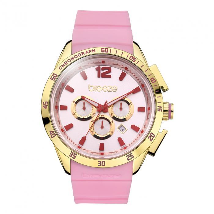 SKU-16548 / Breeze Popsicles Chrono Gold Pink Strap