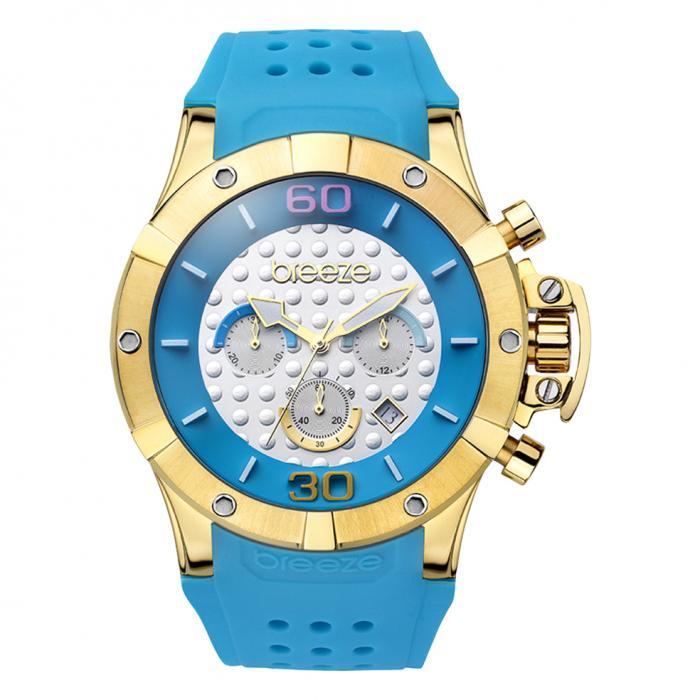 SKU-16453 / Breeze Summer Daze Gold Blue Strap