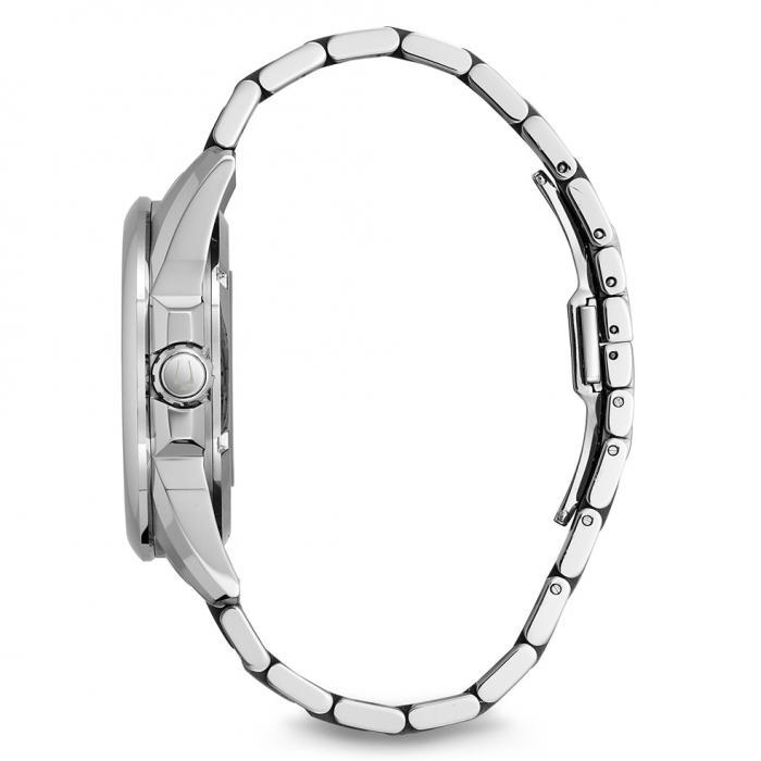 SKU-16117 / BULOVA Automatic Silver Stainless Steel Bracelet