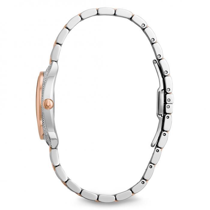SKU-16114 / BULOVA Diamonds Two Tone Stainless Steel Bracelet