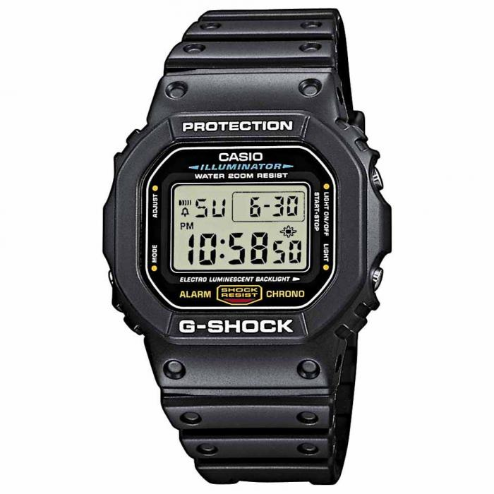 SKU-16828 / CASIO G-Shock Black Rubber Strap