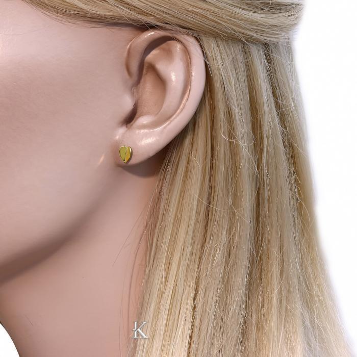 SKU-16817 / Σκουλαρίκια Χρυσός Κ14