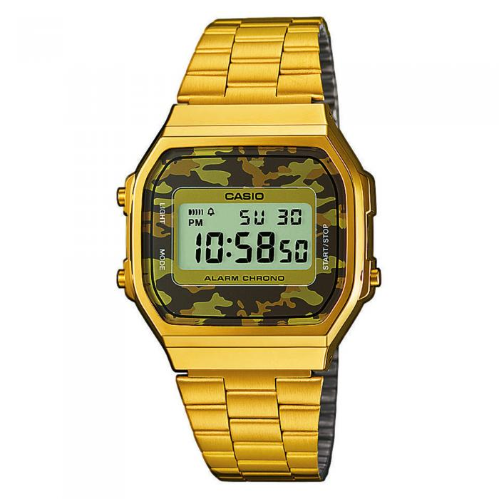 SKU-17571 / CASIO Collection Camouflage Gold Stainless Steel Bracelet