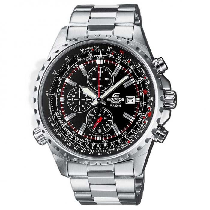SKU-18010 / CASIO Edifice Chronograph Stainless Steel Bracelet