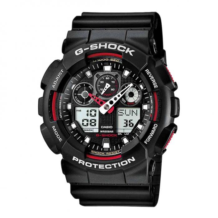 SKU-18387 / CASIO G-SHOCK Chronograph Black Rubber Strap