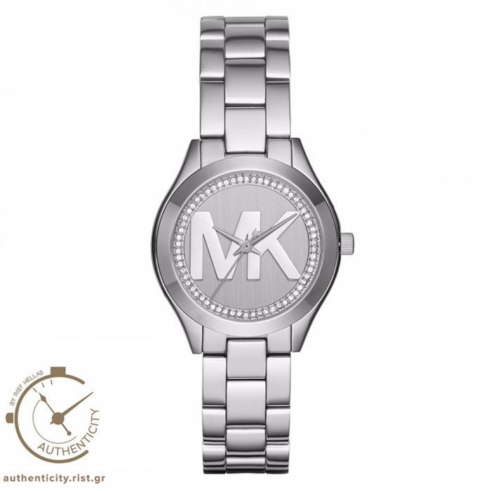 SKU-18391 / MICHAEL KORS Slim Runway Stainless Steel Bracelet